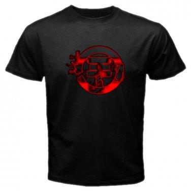 Tokio Hotel Red Logo Black T-Shirt Emo Punk Rock Band S to XXXL
