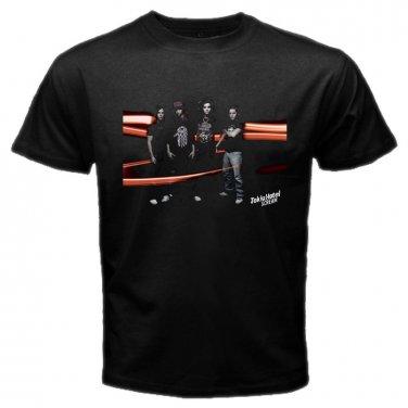 Tokio Hotel Member Black T-Shirt Emo Punk Rock Band S to XXXL