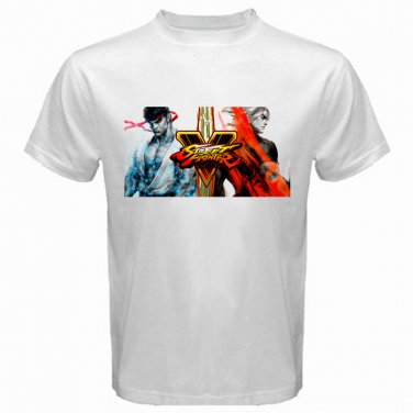 Street Fighter V Ryu Ken Video Game PC Playstation PS Games Mens T-Shirt  S to XXXL