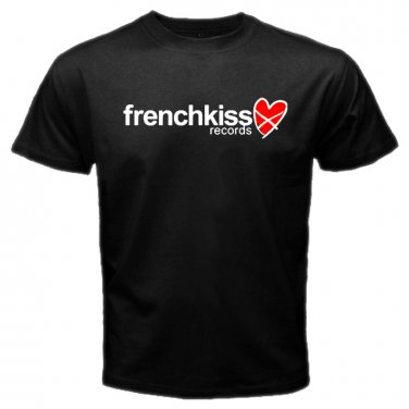 Frenchkiss Records Indie Record Label Indie rock folk rock electro-pop Mens T-Shirt  S to XXXL