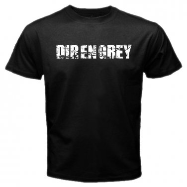 Dir En Grey Logo Japan Rock Band Punk Metal Hardcore Mens T-Shirt S to XXXL