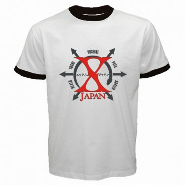 X Japan Logo Japan Rock Band Punk Metal Hardcore Mens T-Shirt S to XXXL