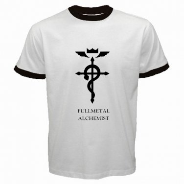 Fullmetal Alchemist Logo Anime Manga Japan Art Shonen Adventure Mens T-Shirt  S to XXXL