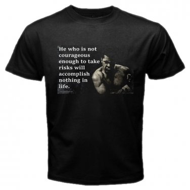 Muhammad Ali Quotes Boxing Heavy Weight Legend RIP Mens T-Shirt  S to XXXL