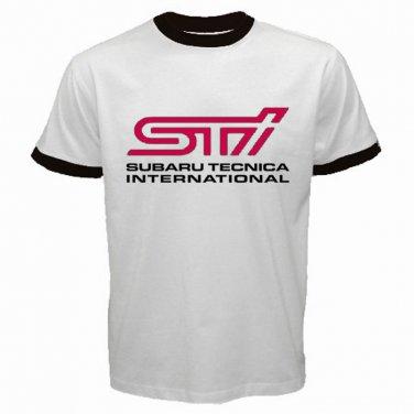 STI Subaru Logo Japanese After Market Part Street Racing JDM Automotive  Mens T-Shirt  S to XXXL