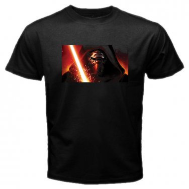 Star Wars Kylo Ren Movie Space Starship Adventure Jedi Skywalker Mens T-Shirt S to XXXL