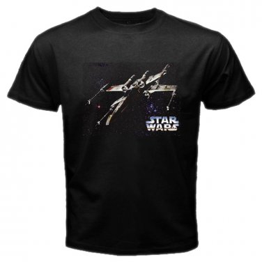 Star Wars X Wing The Force Awaken Movie Jedi Skywalker Mens T-Shirt S to XXXL