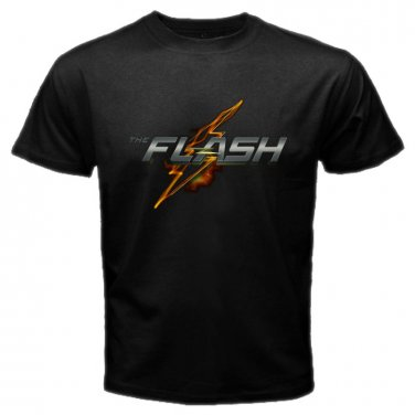 The Flash Logo DC Comics U.S TV Serial Barry Allen Super Hero Men T-Shirt S to XXL