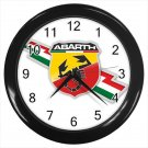 Abarth Fiat High Performance Logo 10 Inch Wall Clock Home Decoration