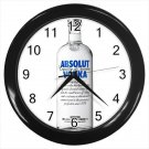Absolute Vodka Cocktail Alcohol Beverages 10 Inch Wall Clock Home Decoration
