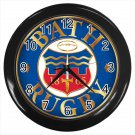 Bath Rugby English Rugby Club Logo 10 Inch Wall Clock Home Decoration