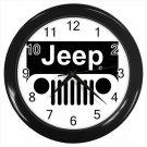 Jeep Logo 4X4 Off Road Car SUV Tough Car Logo 10 Inch Wall Clock Home Decoration