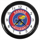 Kansas Jayhawks Basketball NCAA American 10 Inch Wall Clock Home Decoration