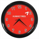 Kumho Tires Logo Automotive Tyre Tires 10 Inch Wall Clock Home Decoration