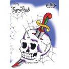 Cobweb Skull Sticker/Decal