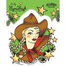 Sunny Buick Cowgirl Sticker