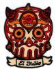 Maryann Luera - El Diablo Sugar Skull - Embroidered Patch