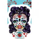 Sunny Buick - Tea Sugar Skull Lady - Sticker / Decal