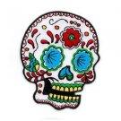 Sunny Buick - Candy Sugar Skull - Metal Keychain