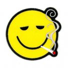 Smoking Smiley Sticker
