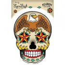 Sunny Buick - Eagle Sugar Skull - Sticker / Decal