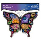 Dan Morris Celestial Day and Night Butterfly Decal/Sticker
