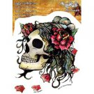 Agorables skull rose decal/sticker