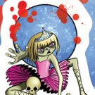 Frank Wiedemann Zombie Kids  VANESSA  Zombie Ballerina Dancer Skull Sticker NEW