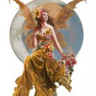 "NENE THOMAS - EARTHMOON - FAIRY STICKER ROMANTIC ETHEREAL AND BEAUTIFUL 4.75""X8"""