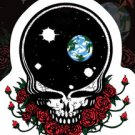 "SPACE YOUR FACE GRATEFUL DEAD STICKER Art By GDP 5""X6"" DIE CUT WEATHER RESISTANT"