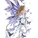 "NENE THOMAS - LAVENDER SERENADE FAIRY -  JUMBO 8.5"" STICKER WEATHER RESISTANT"