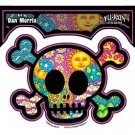 DAN MORRIS - CUTE CROSSBONES SKULL - STICKER INCLUDING SUN MOON STARS EARTH  NEW