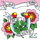 SUNNY BUICK - TRUE LOVE - STICKER FLOWERS HORSE 4-LEAF CLOVER AND BANNER  *NEW *