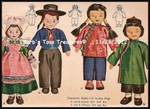 Wall Art  *Character Dolls*  8X10 Color Photo