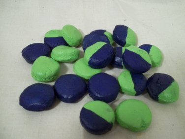 Seattle's Favorite Football Season Color Table Bowl Candies