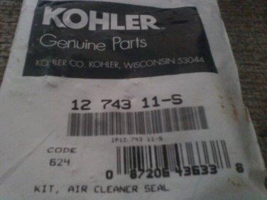 12 743 11-S KOHLER AIR CLEANER SEAL KIT