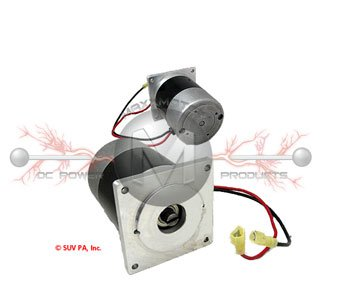 3012431 Buyers Motor Replacement for Gearbox with wires attached