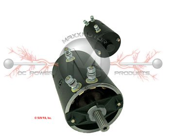 M25314, M25981, M25982 Warn motor replacement for Arco Marine, Superwinch, Warn Industries 4.8 HP