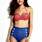 Pin Up Vintage Style Bathing Suit