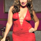 Plus Size Red Chemise Lingerie