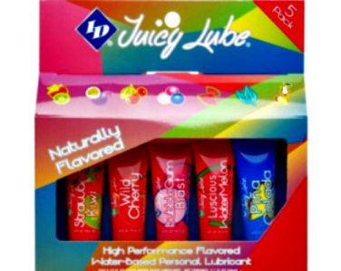 ID Juicy Lube 5 Pack