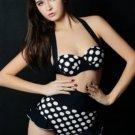 Vintage Inspired Polka Dot Bikini