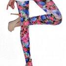 Flowered leggings