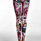 Pin up girl leggings