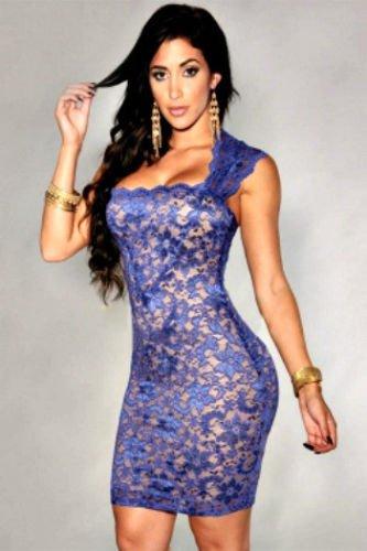 Lavender Lace Bodycon dress