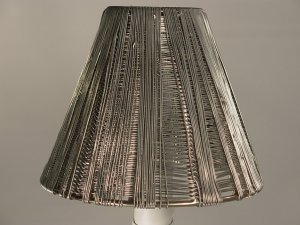 "4"" Metal - Clip On Chandelier Lamp Shade"