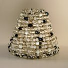 """5"""" Multi Color Beaded - Clip on - Chandelier Lamp Shade"""