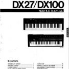 Yamaha DX11 DX-11 Service Manual