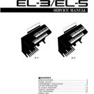 Yamaha EL50 EL-50 Service Manual