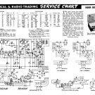 Vidor CN396A CN-396A Vintage Wireless Service Information